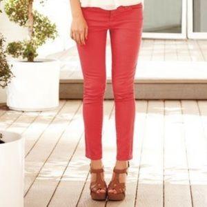 LC Lauren Conrad Coral Ankle Length Jeans 8 EUC